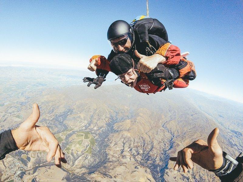 Skydiven in de buurt van Wanaka
