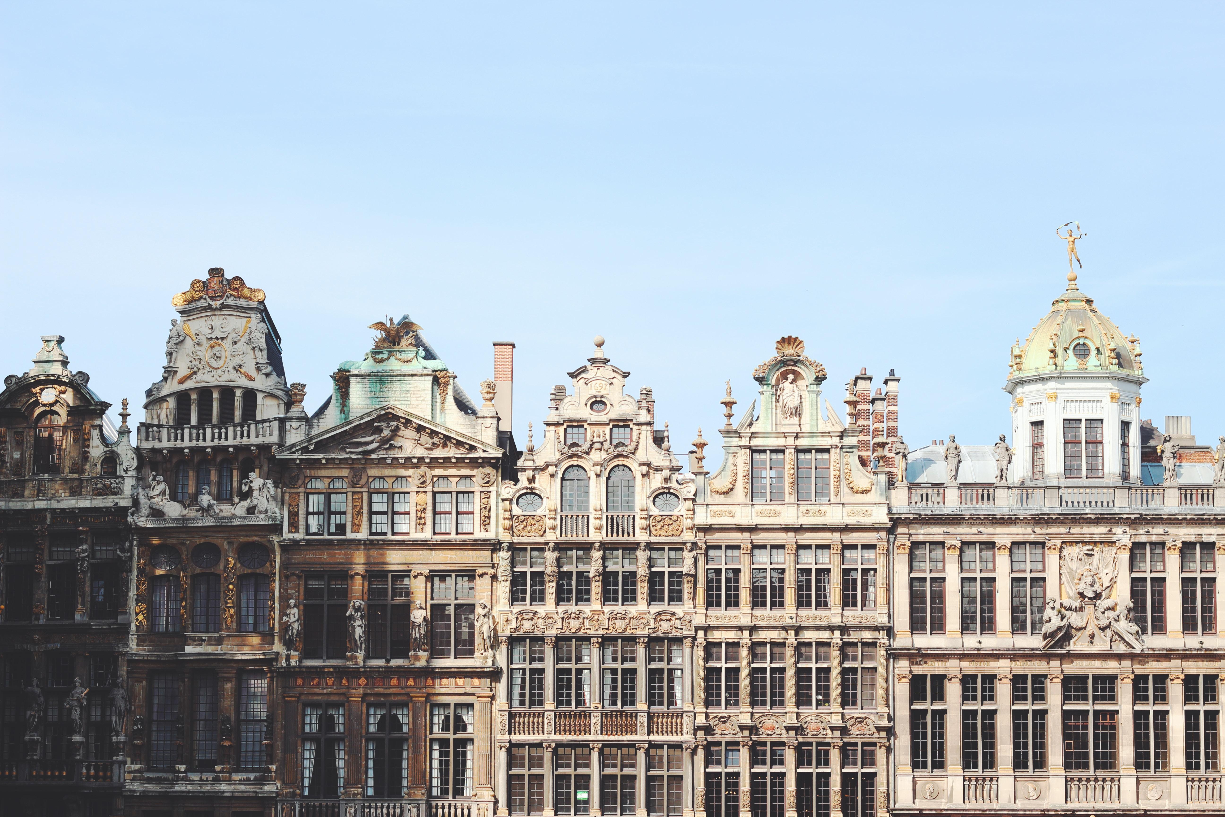 De prachtige panden in Brussel
