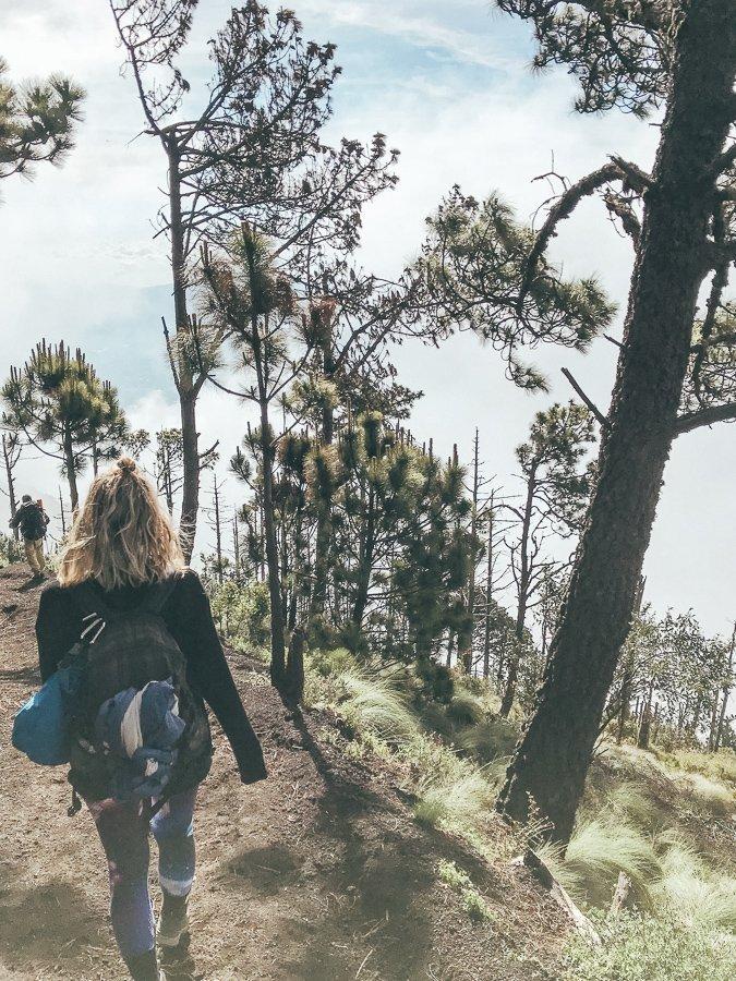 Acatenango hiken Guatemala