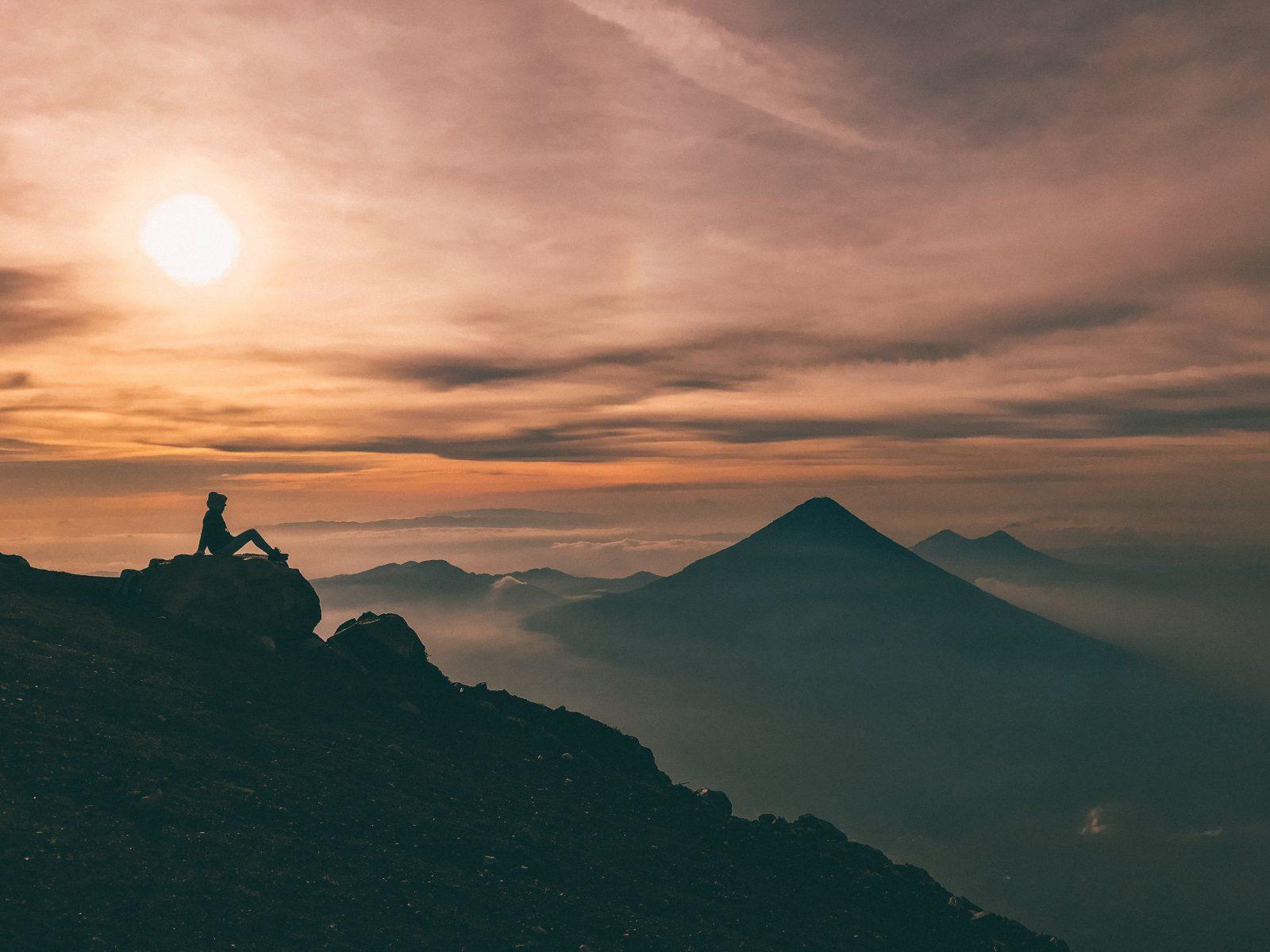 Acatenango vulkaan Guatemala