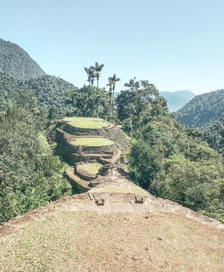 Ciudad Perdida in Colombia