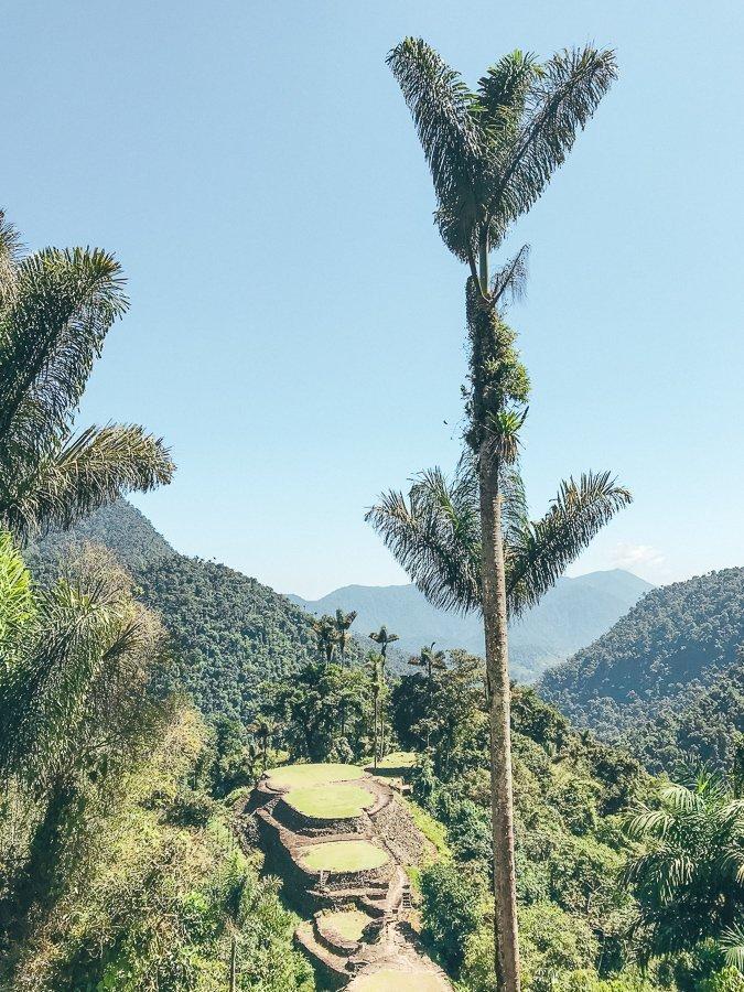 De Lost City in Colombia