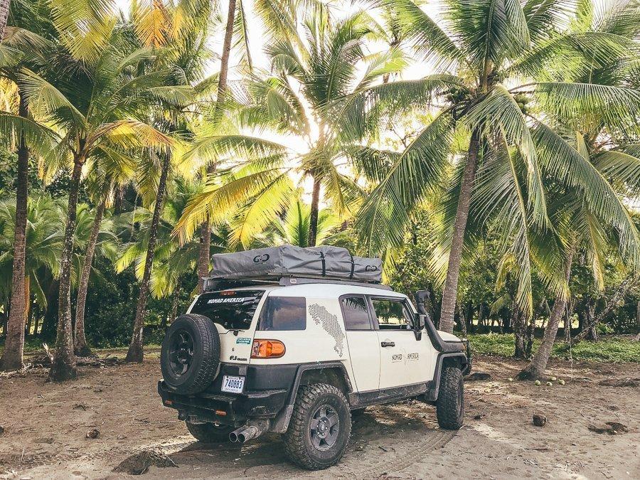 Met de auto door Costa Rica