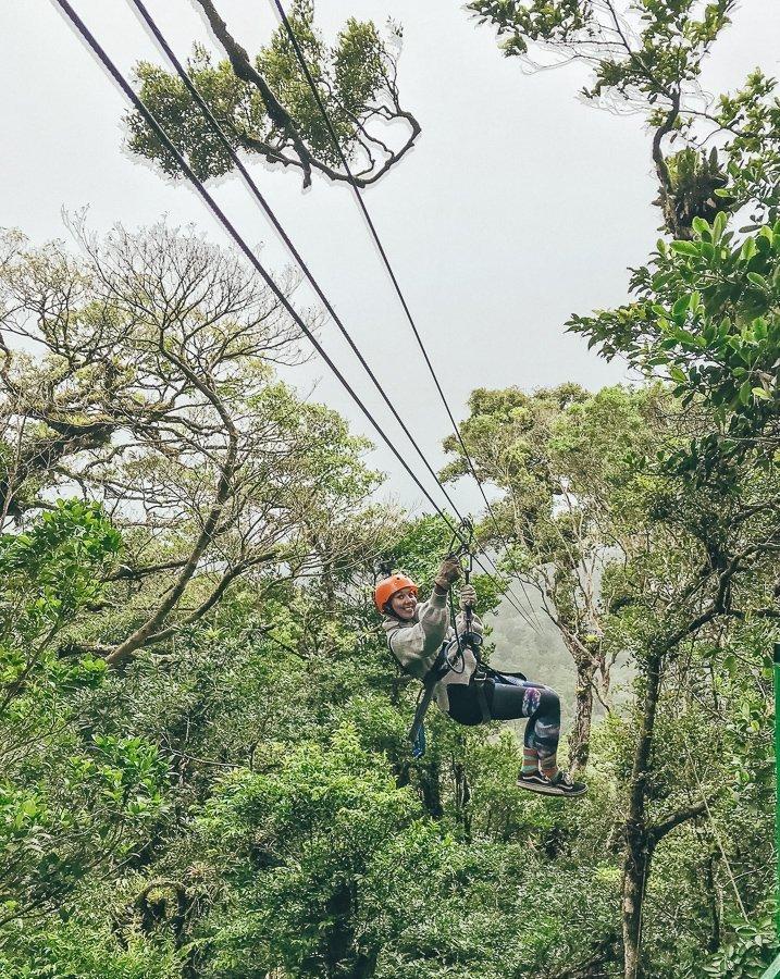 Monteverde ziplinen