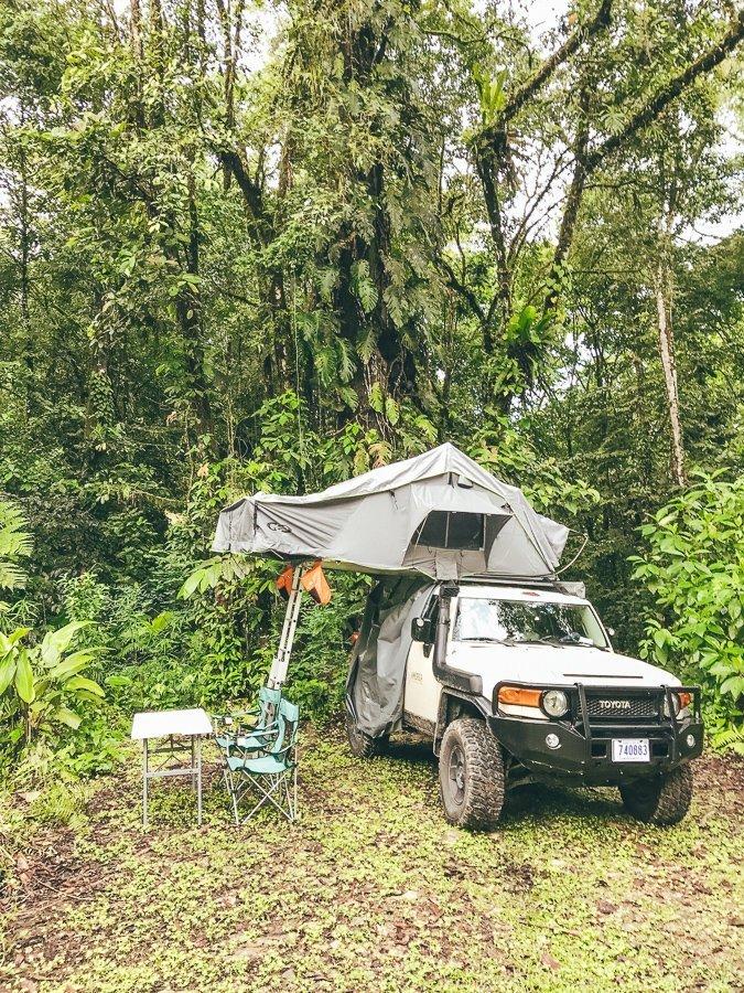Roadtrippen door Costa Rica met de four wheel drive van Nomad America