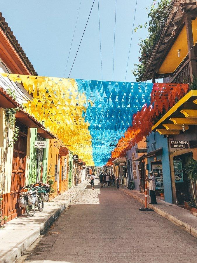 Cartagena is een van de leukste steden tijdens een rondreis door Colombia