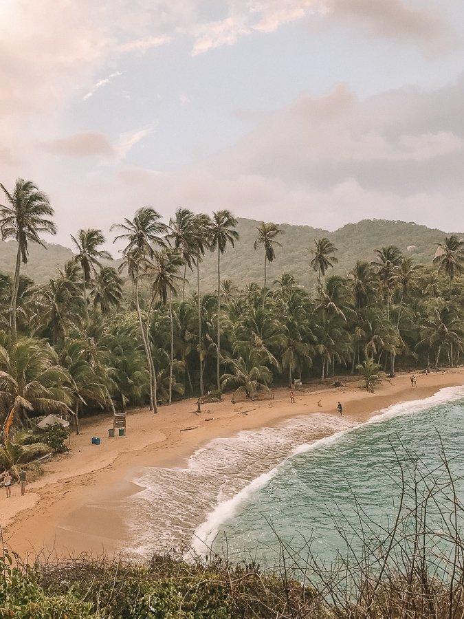 Het strand bij Cabo San Juan