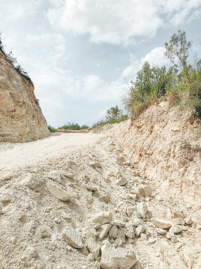 Het pad onderweg naar het eerste kamp van de Ciudad Perdida trekking