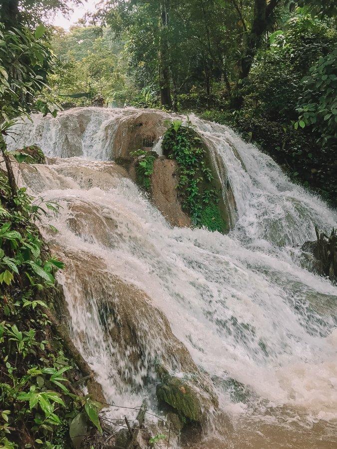 Watervallen bij Rio Claro