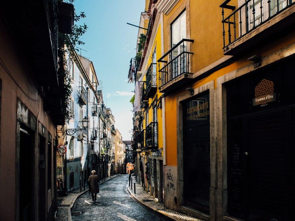 De mooie straatjes van Lissabon