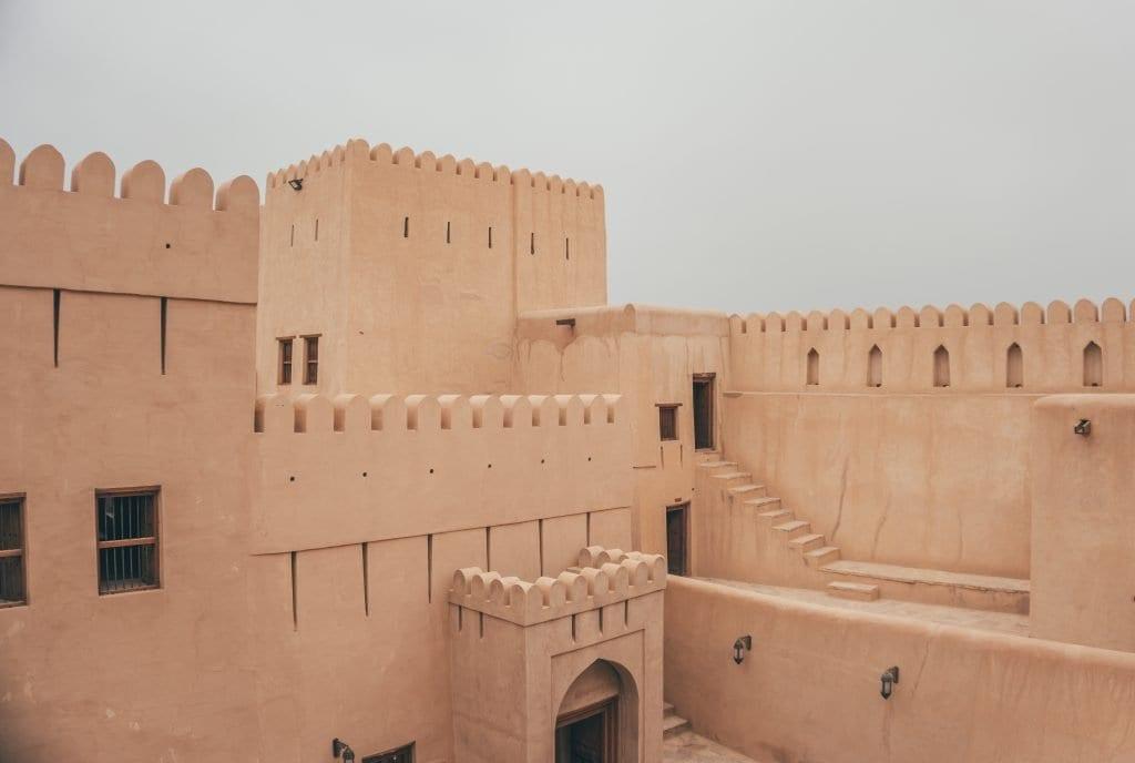 Het fort van Nizwa is prachtig!