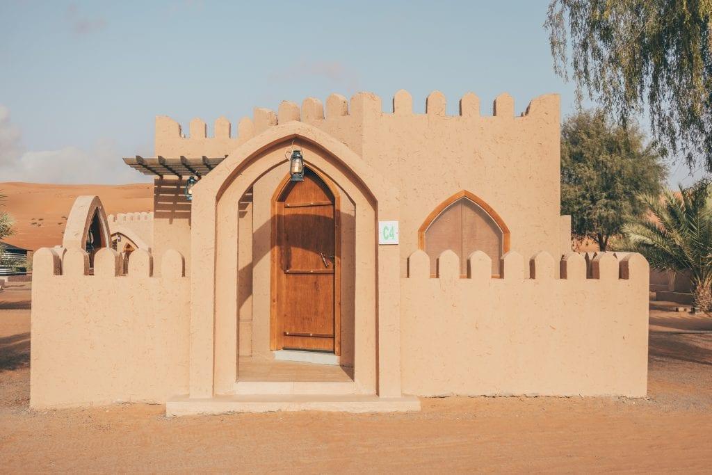 Een leuke stop tijdens je route door Oman.