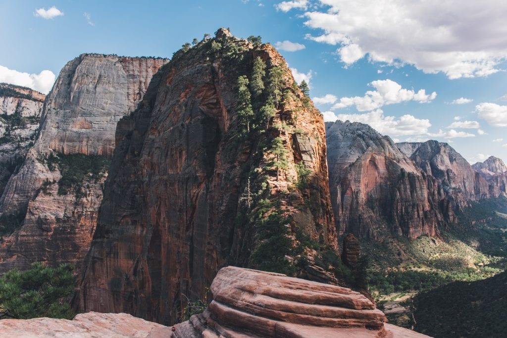 De Angels Landing, de hike in Zion National Park.