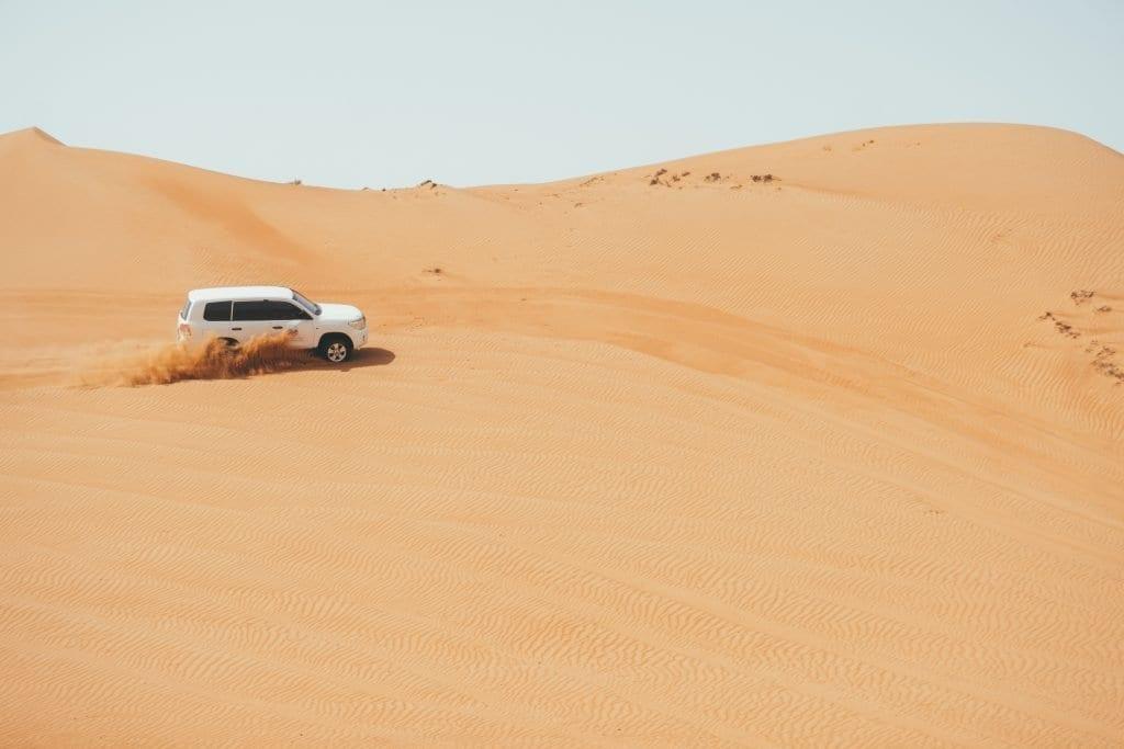 Je kunt heel goed een roadtrip door Oman maken.