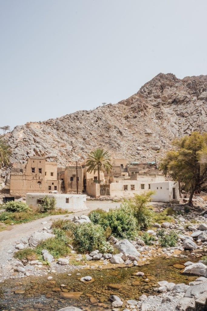 Dit kom je tegen tijdens een reisroute Oman.