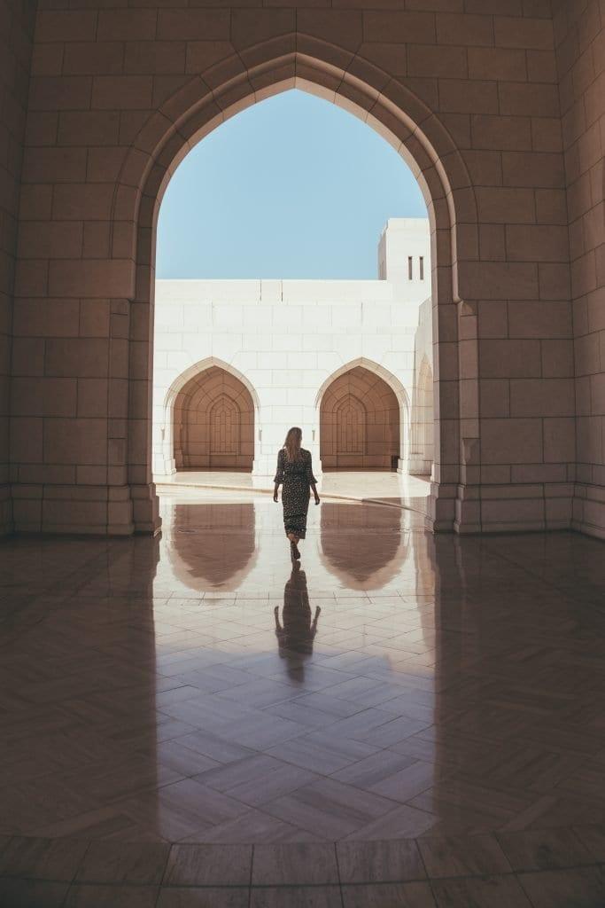 Muscat heeft de mooiste gebouwen!