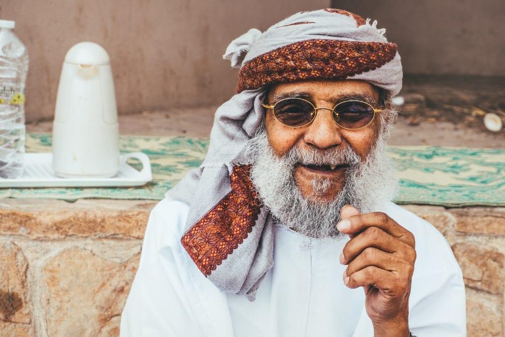 De mensen in Oman zijn prachtig.