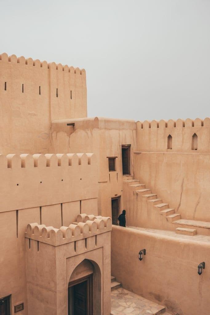 Het fort van Nizwa kan je niet overslaan!