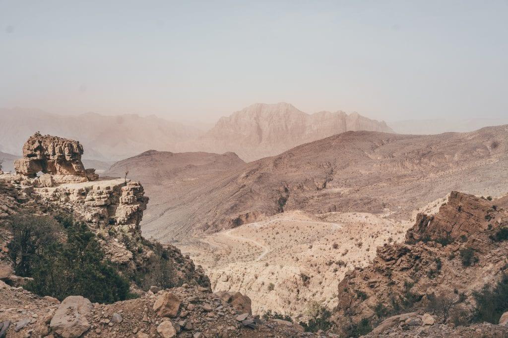 Tijdens een Oman roadtrip heb je de mogelijkheid om een meerdaagse trekking te maken.