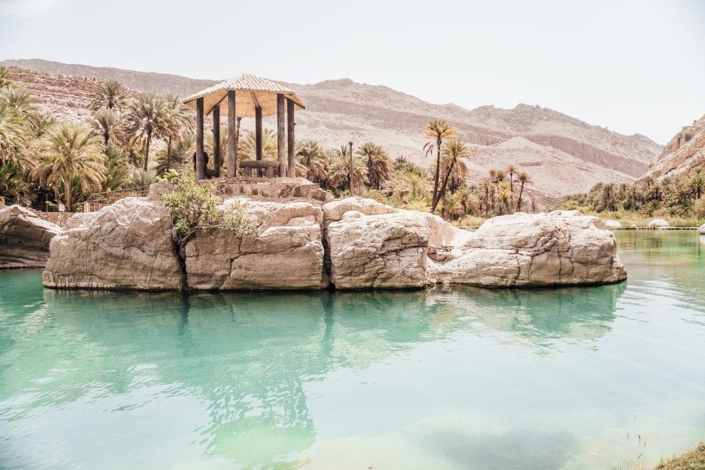 Tijdens je verblijf in Oman bewonder je prachtige oases.