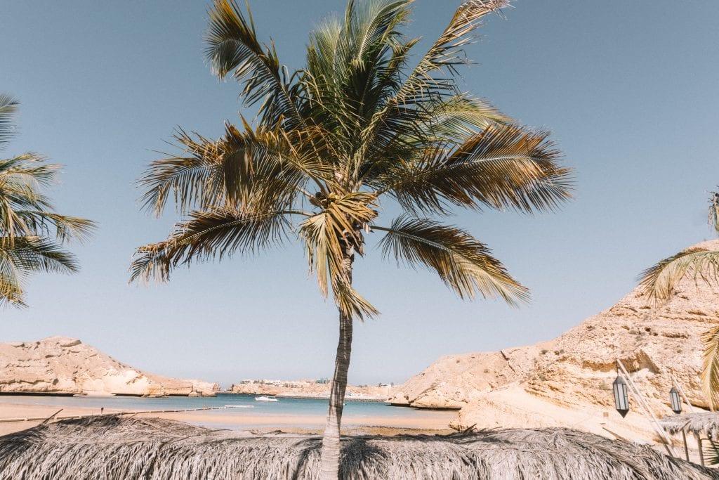 Je kunt ook gewoon lekker relaxen aan het strand.