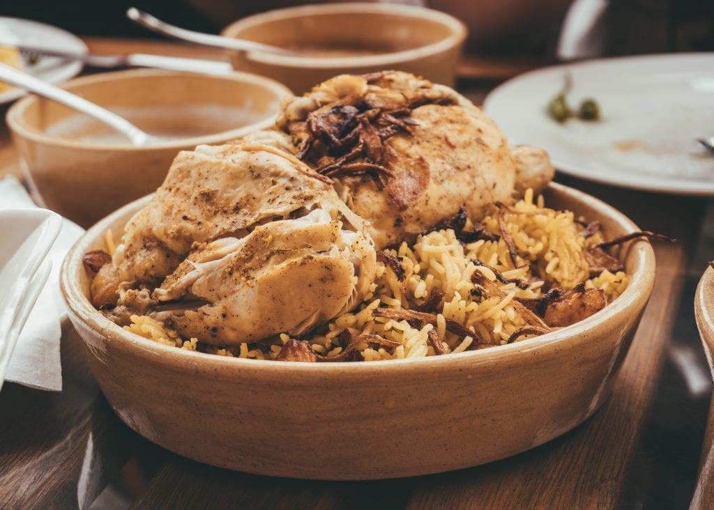 Je kunt heel lekker eten tijdens een reis door Oman.