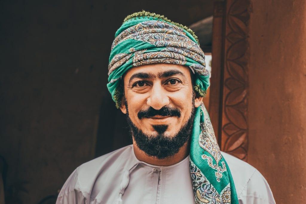 De mensen in Oman zijn heel vriendelijk.