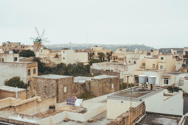 Een prachtig uitzicht op Gozo eiland!