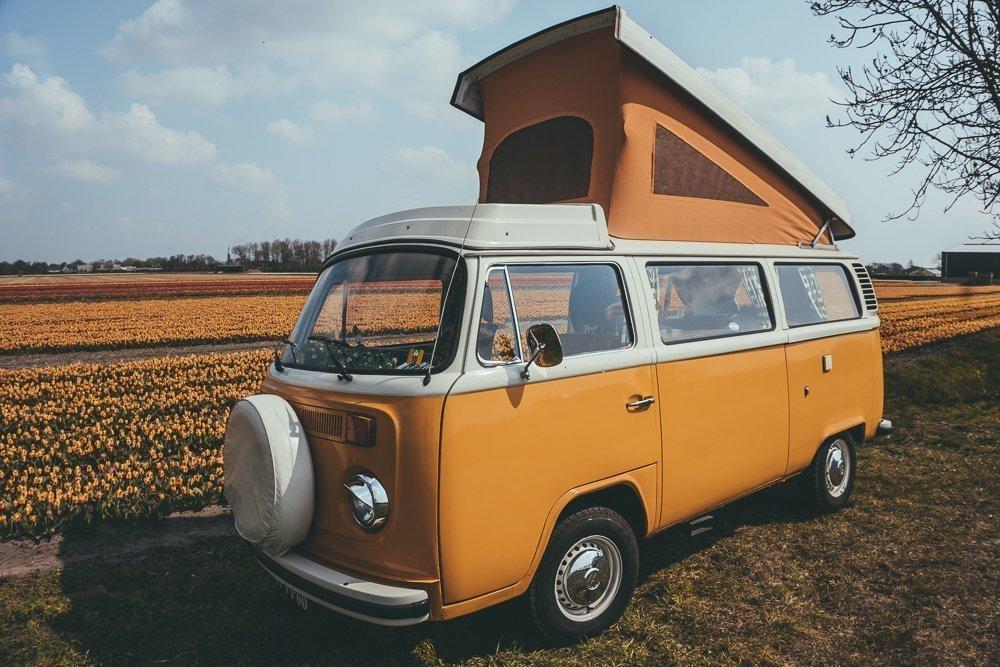 Roadtrippen met een Volkswagenbusje door Nederland