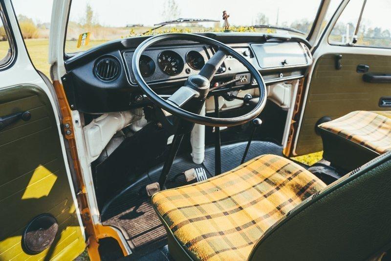 Een Volkswagenbusje rijdt eigenijk best wel prima.