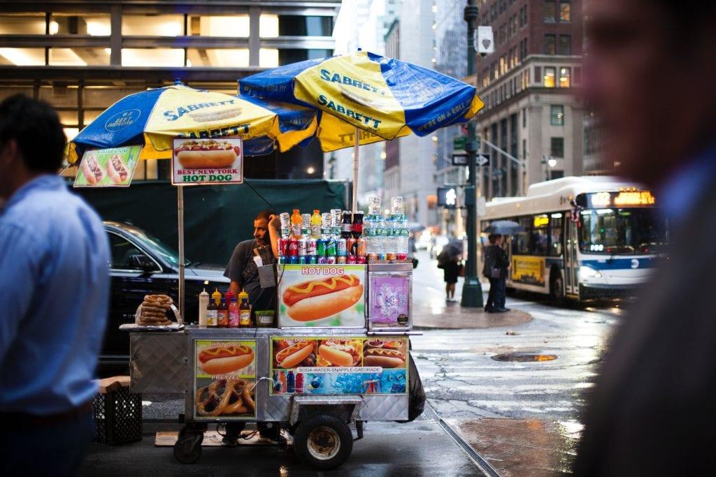 In New York kun je natuurlijk ook heel lekker eten.