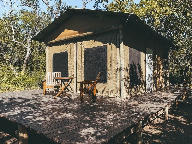 Last but not least: sleep in the Ngama Tented Lodge, a lovely place in this South Africa route!