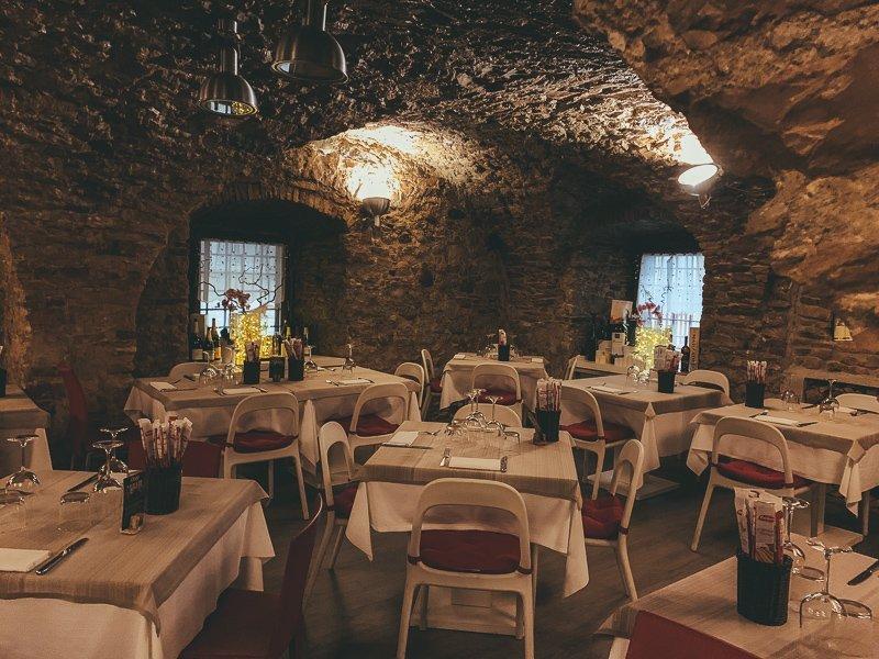 Bij Il Doge kun je echt overheerlijk eten en het is een heel leuk plekje om te zitten.