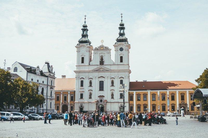 Tijdens jouw fietsreis door Moravië moet je zeker een bezoek brengen aan fijne stadjes.