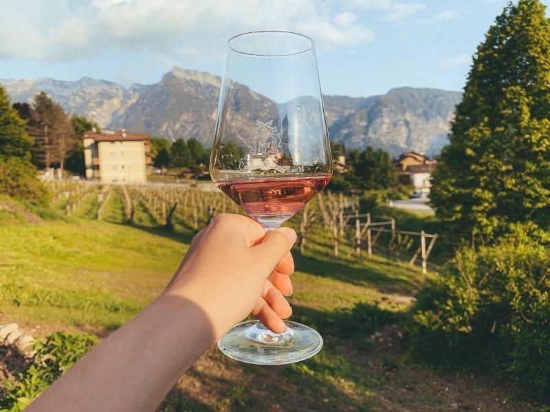 Bij Cantina Romanese in Levico Terme, Valsugana kun je heerlijke wijntjes drinken.