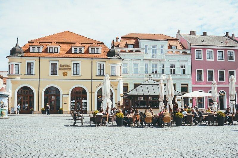 Uherské Hradiště is een superschattig stadje die je tijdens het fietsen in Moravië zeker niet gemist mag hebben.