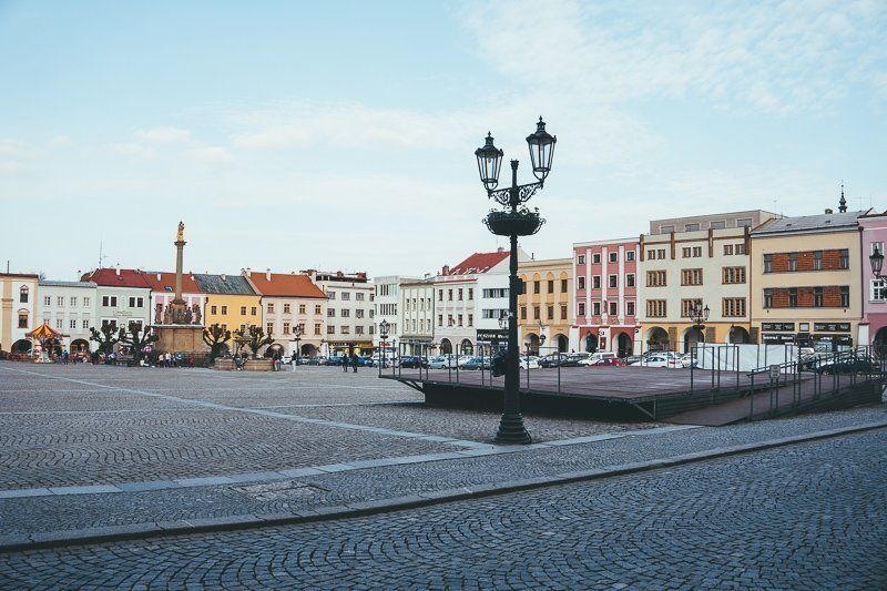 Kromeriz is het eerste stadje dat je aandoet tijdens het fietsen in Moravië. Het is een heerlijk stadje!