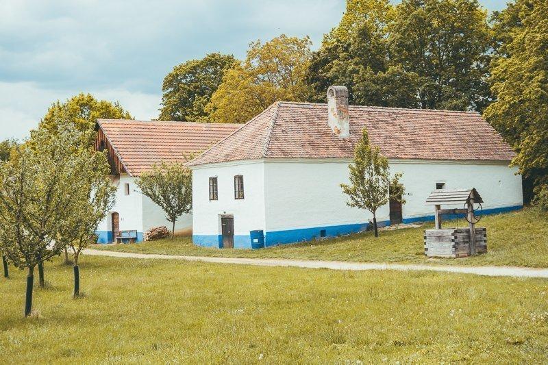 In Strážnice bezoek je een wel heel bijzonder openluchtmuseum.