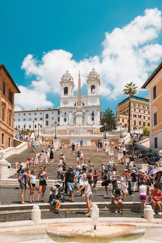 Wat te doen in Rome? De Spaanse trappen bewandelen!