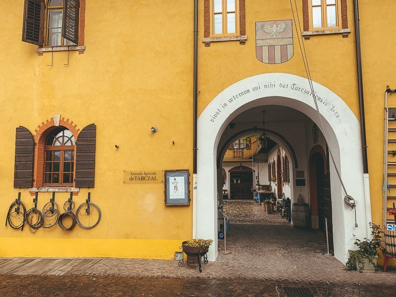 Trentino Italië staat bekend om de heerlijke wijnen en die worden onder andere hier gemaakt!