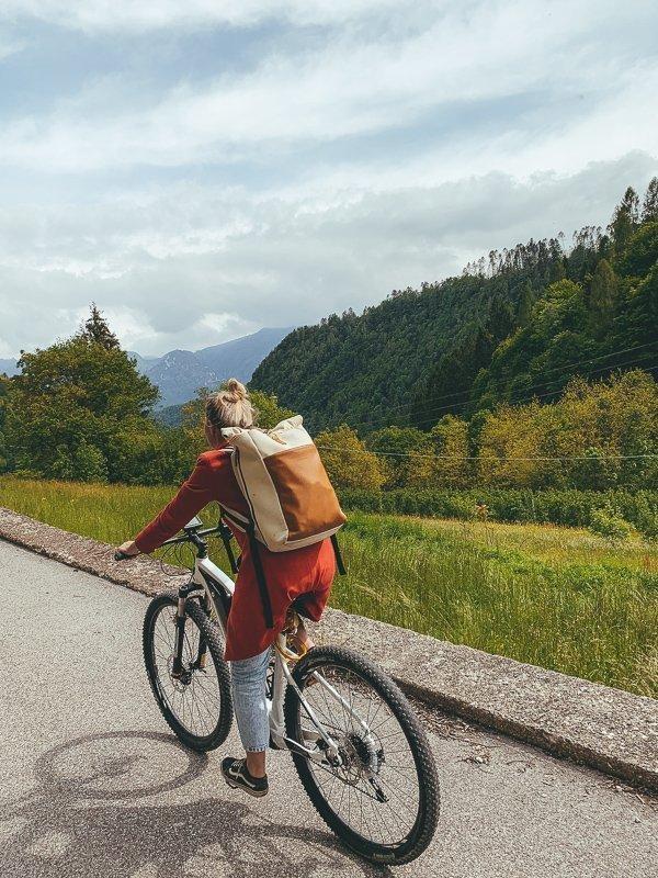 Valsugana is de perfecte regio om te gaan fietsen.