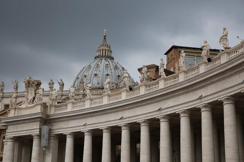 Natuurlijk mag ook het Vaticaan tijdens een stedentrip Rome niet overgeslagen worden.