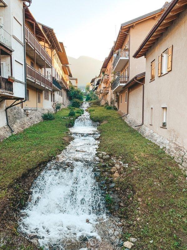 Valsugana kent heerlijke dorpjes, zoals Levico Terme.
