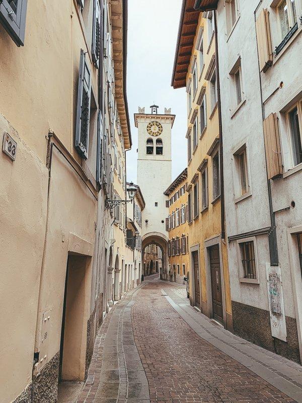 Rovereto heeft een heel schattig centrum.