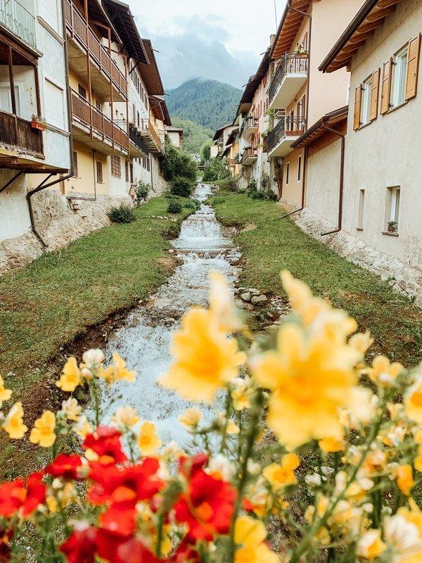 Levico Terme, een van de stadjes van Valsugana, is een heerlijke uitvalsbasis.