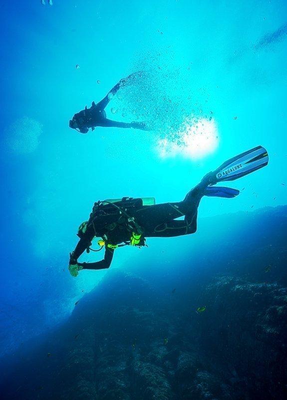 Tijdens een rondreis Belize moet je zeker duiken.