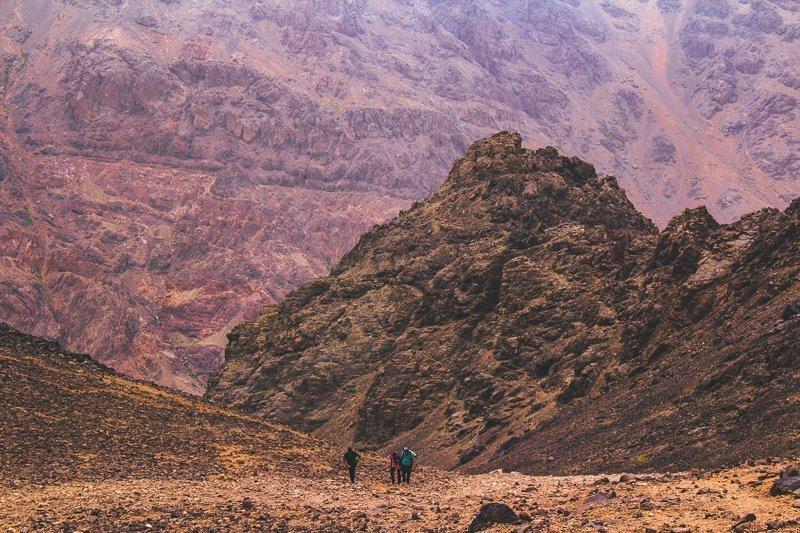 De ruige bergen is zeker een goede reden om naar Marokko te reizen.