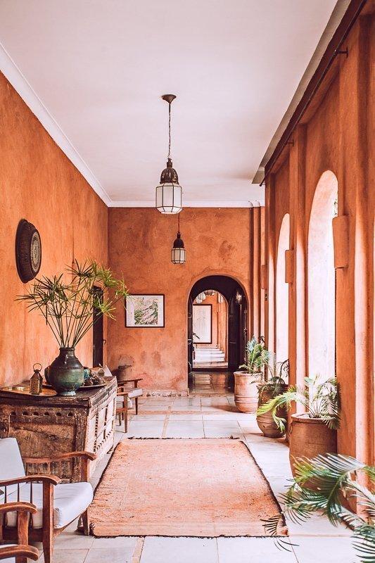 De kleurrijke pandjes in Marrakech!