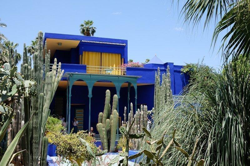 Tijdens een stedentrip Marrakech mag je Jardin Majorelle niet overslaan!