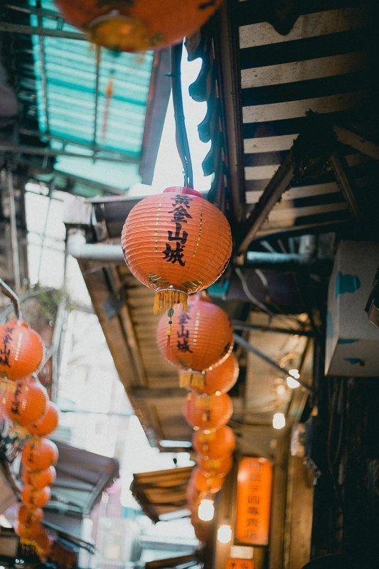 Lampionnen in Taiwan.